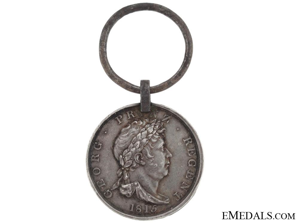 eMedals-Hannover, Waterloo Medal 1815