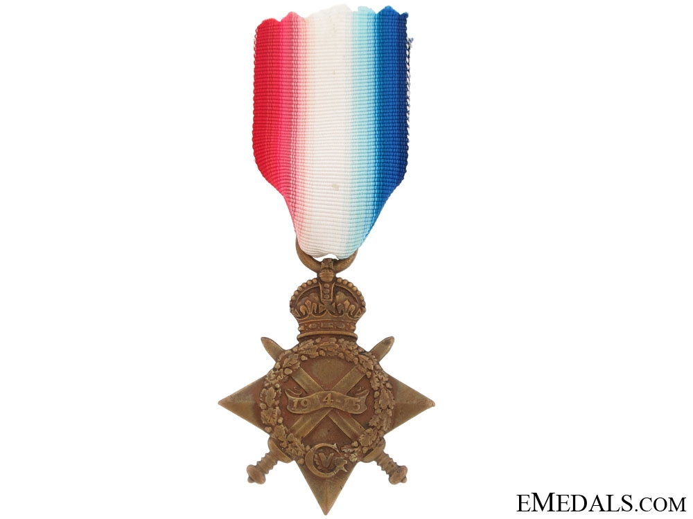 eMedals-A 1914-15 Star to the Gordon Highlanders