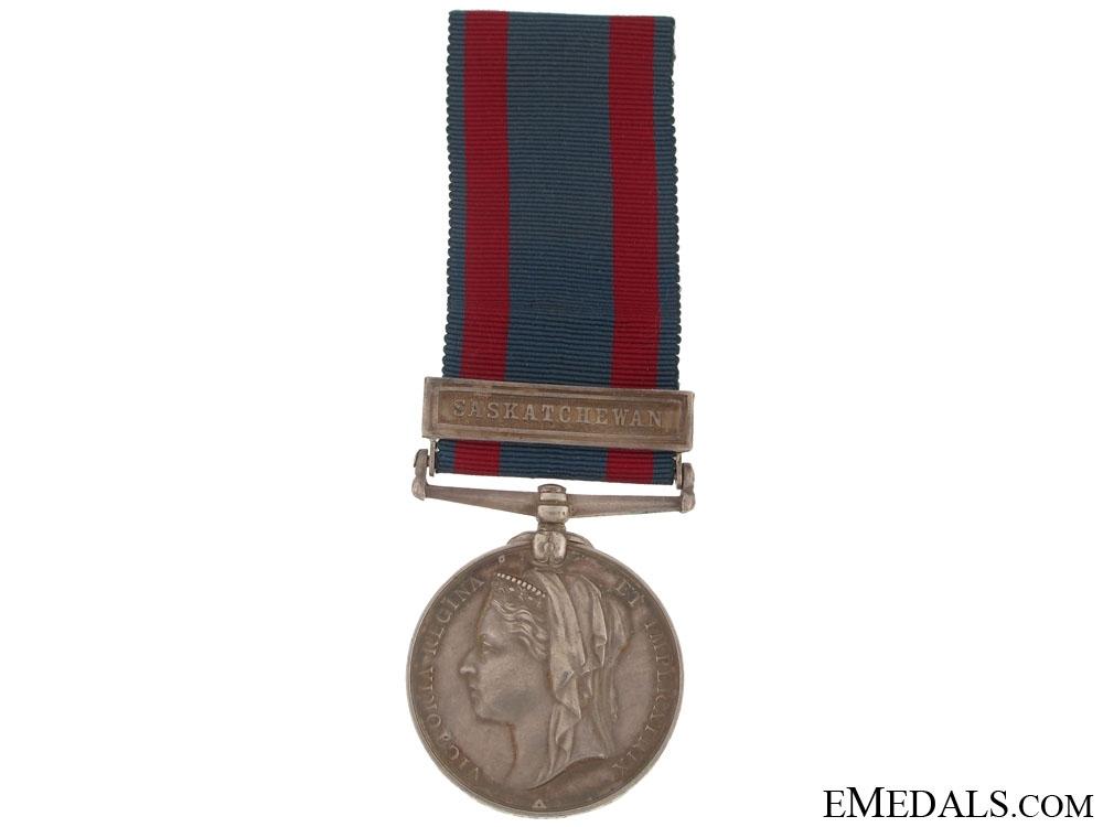 eMedals-North West Canada Medal 1885