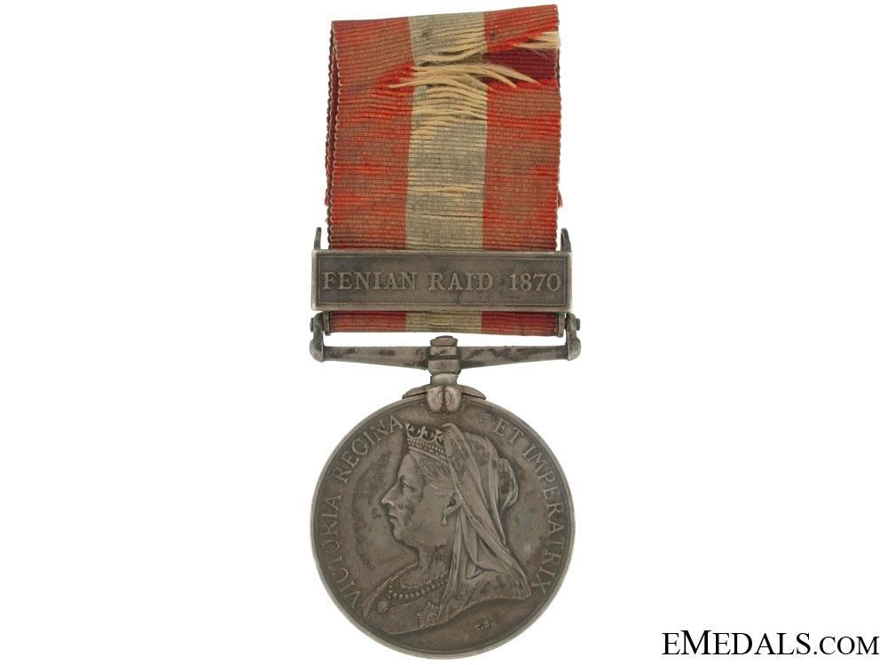 eMedals-Canada General Service, 1870