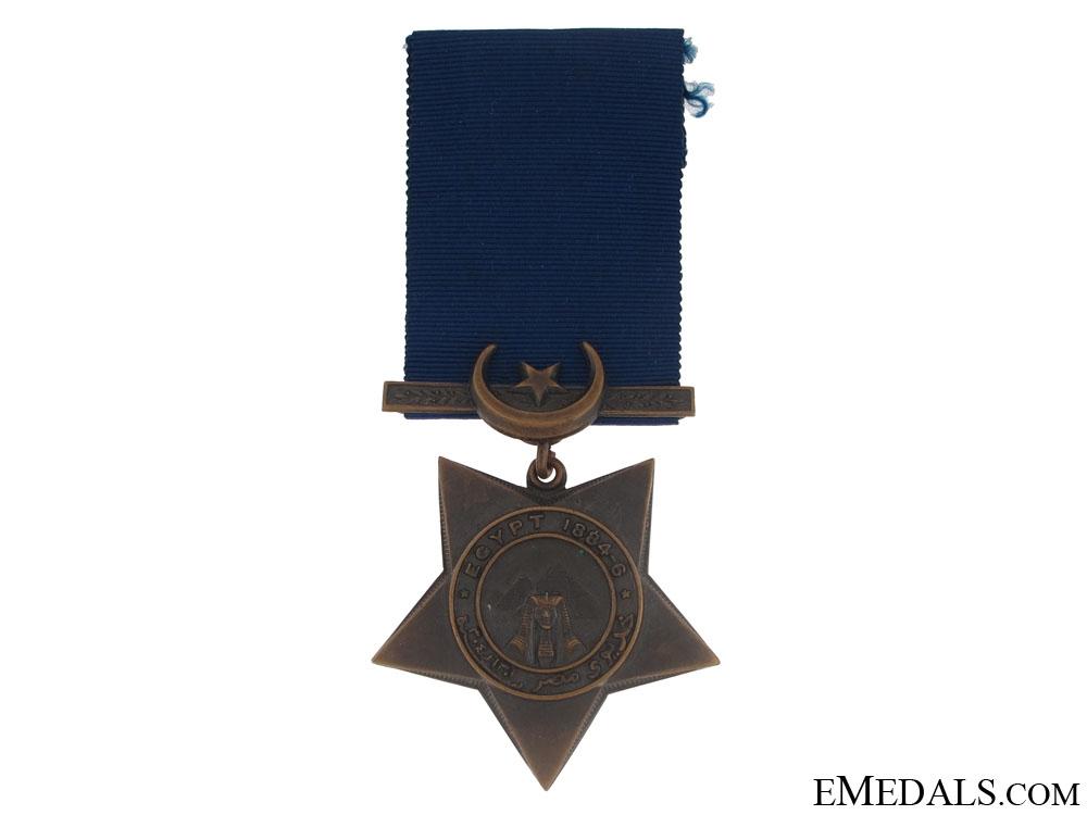 eMedals-A Khedives Star 1884-6