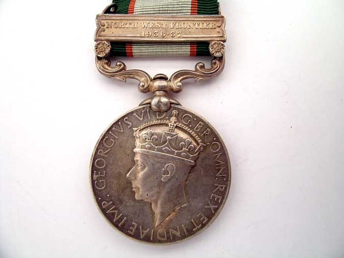 eMedals-INDIA GENERAL SERVICE MEDAL 1936-37