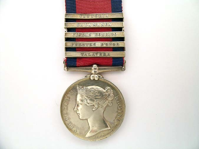 eMedals-MILITARY GENERAL SERVICE MEDAL 1793-1814