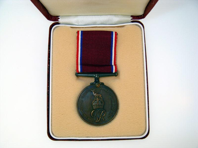 eMedals-Newfoundland Volunteer Service Medal
