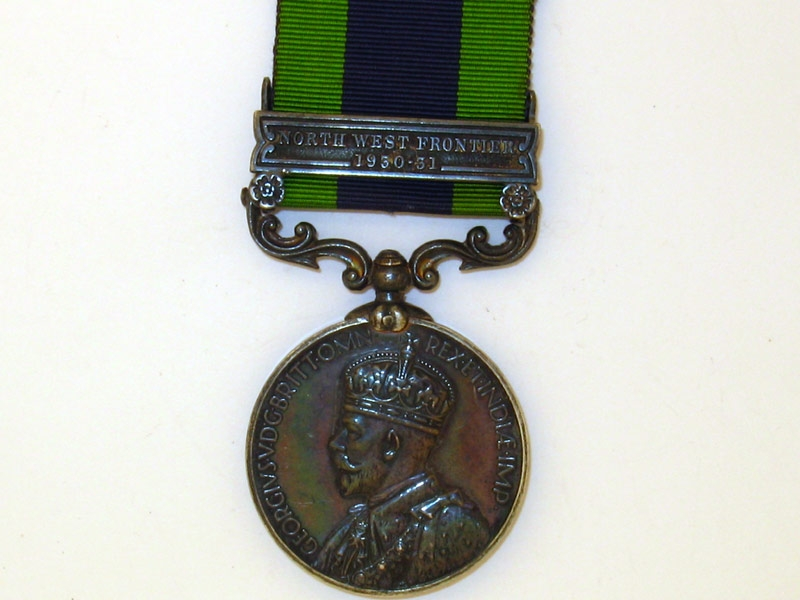 eMedals-India General Service Medal 1909
