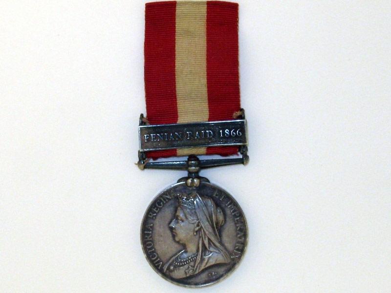 eMedals-Canada General Service Medal 1866-1870,