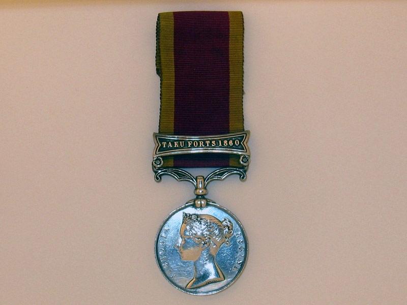 eMedals-Second China War Medal 1857-60,