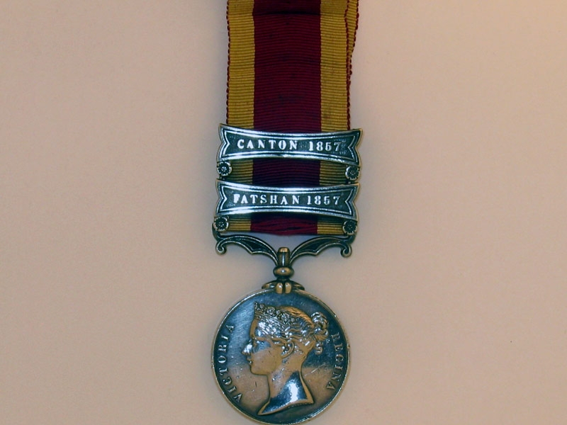eMedals-Second China War Medal 1857-60,