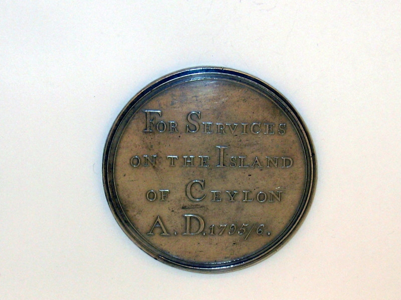 eMedals-Capture of Ceylon Medal 1796,
