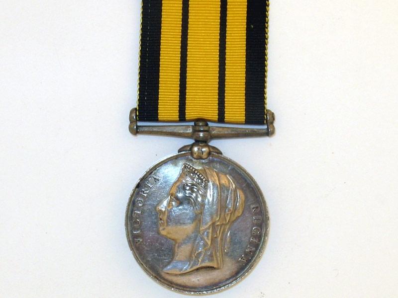 eMedals-Ashantee War Medal 1873-74,