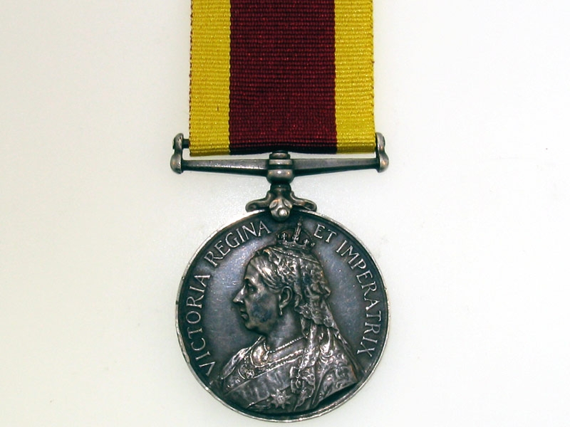 eMedals-China War medal 1900