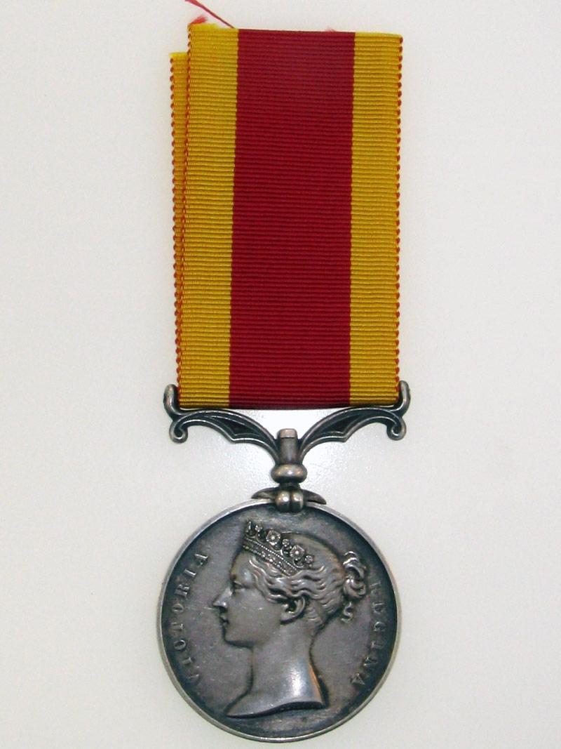 eMedals-Second China War Medal  1861
