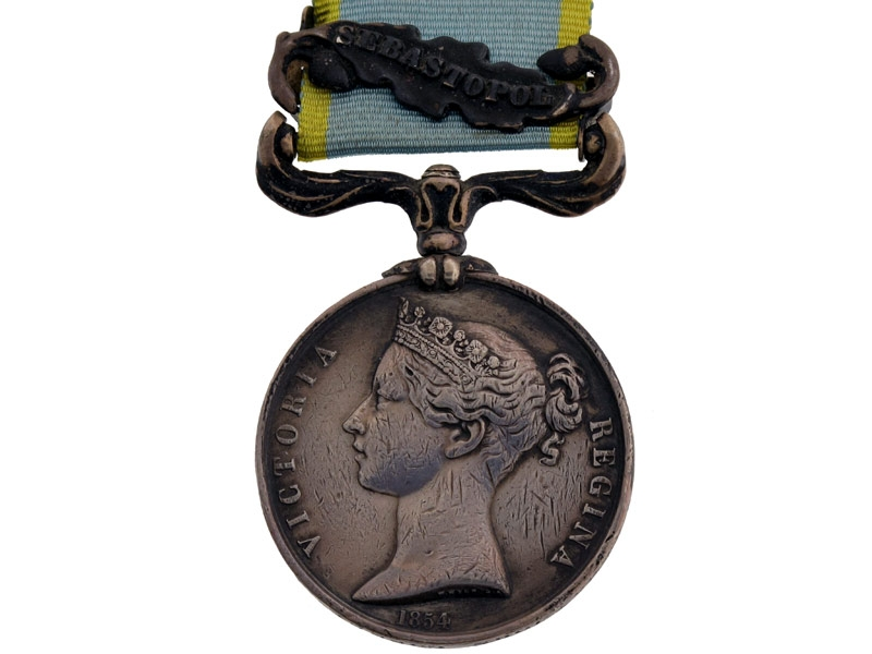 eMedals-Crimea War Medal 1854-56,