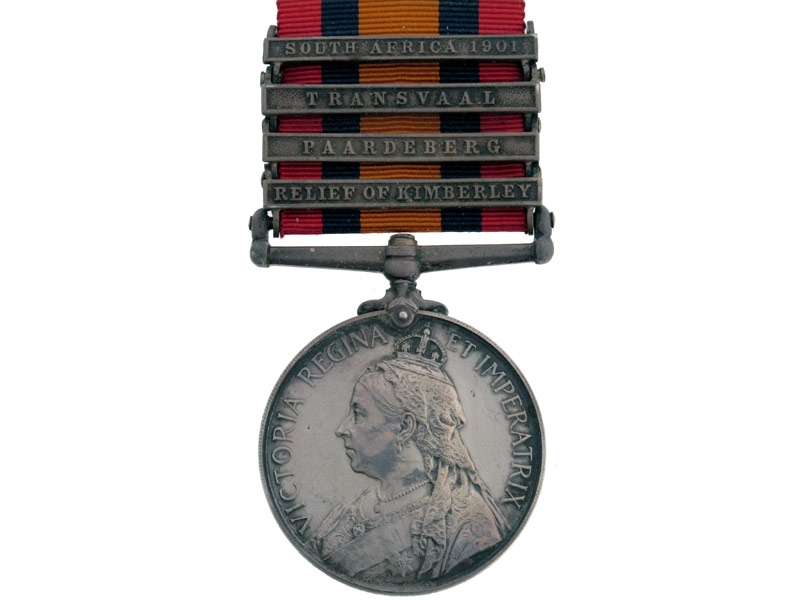eMedals-Queens South Africa Medal 1899-1902,