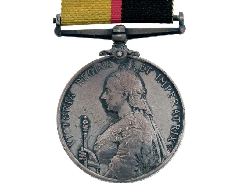 eMedals-Sudan Medal 1896-98.