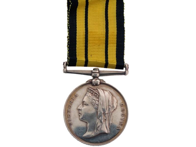 eMedals-Ashantee Medal, HMS Active