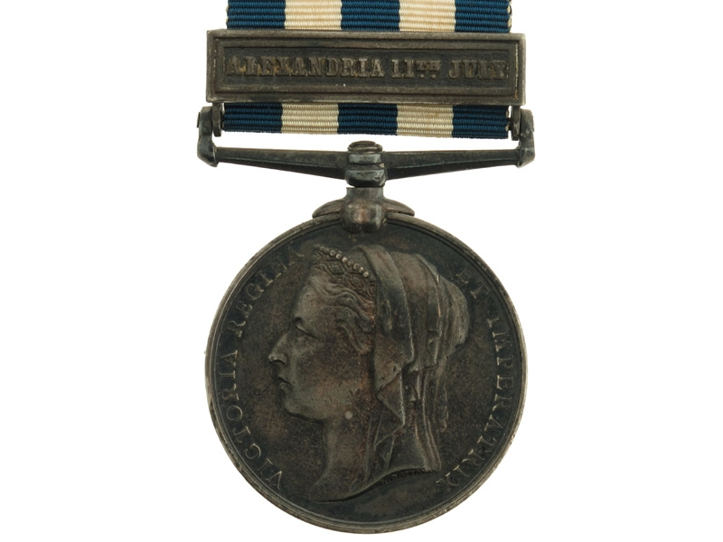 eMedals-Eygpt Medal 1882-89 – Alexandria 11th July