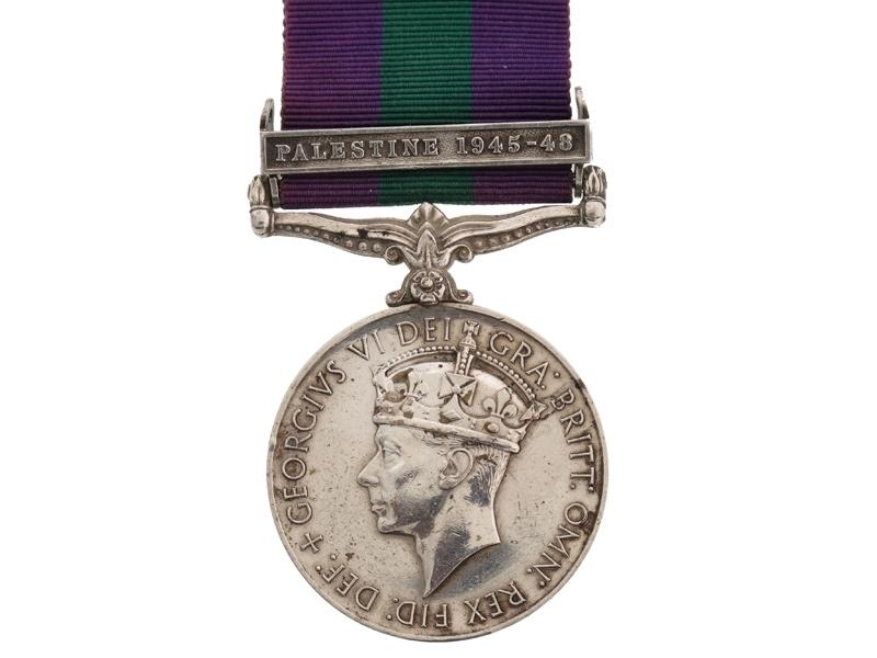 eMedals-General Service Medal, 1918-1962, DCLI.