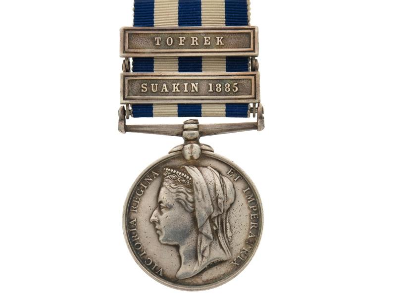 eMedals-Egypt Medal, 1882-1889. R.M.L.I.