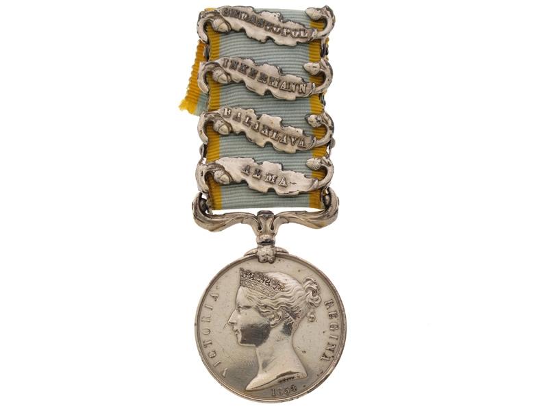 eMedals-Crimea Medal 1854-56,