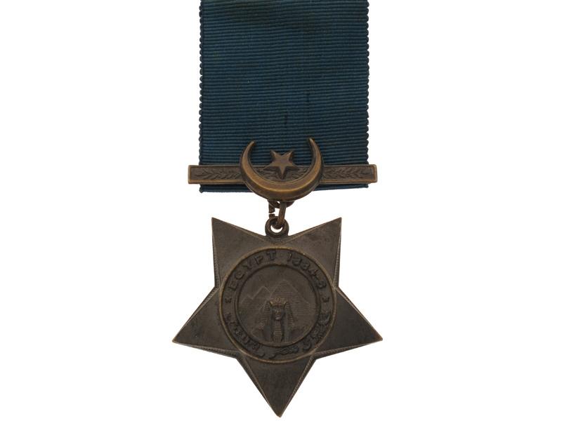 eMedals-Khedive's Star 1884-86,