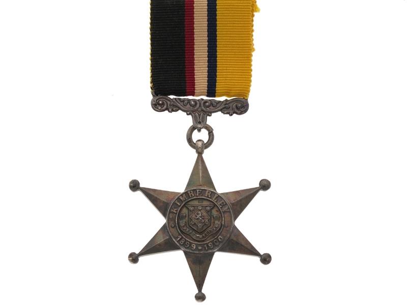 eMedals-Kimberley Star 1899-1900,
