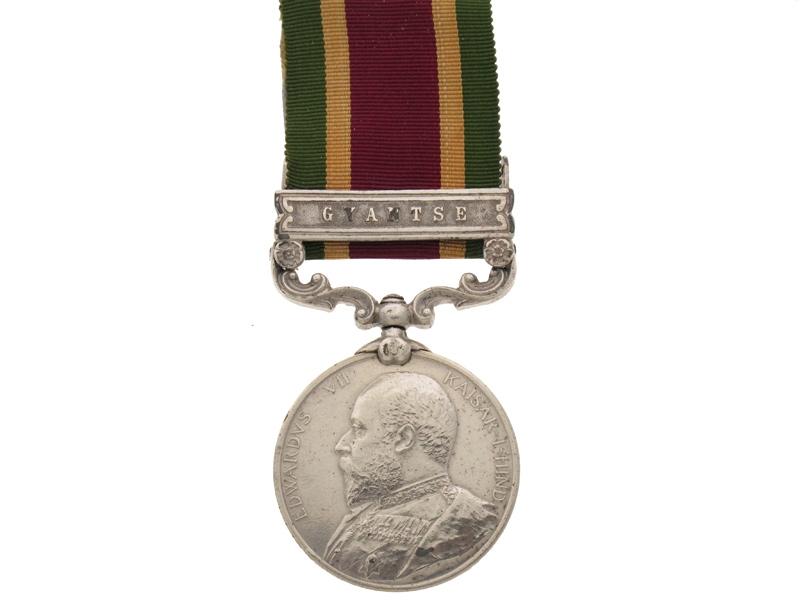 eMedals-Tibet Medal 1903-04,