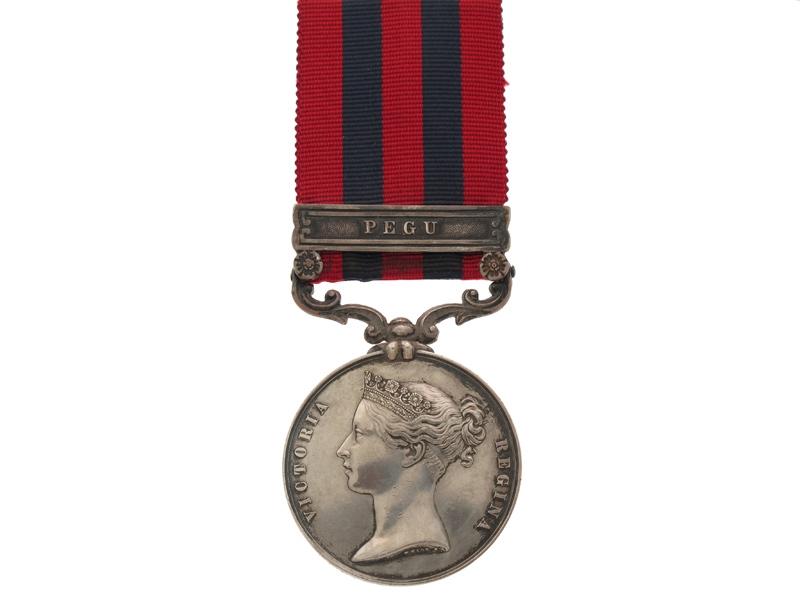 eMedals-India General Service Medal 1849-95