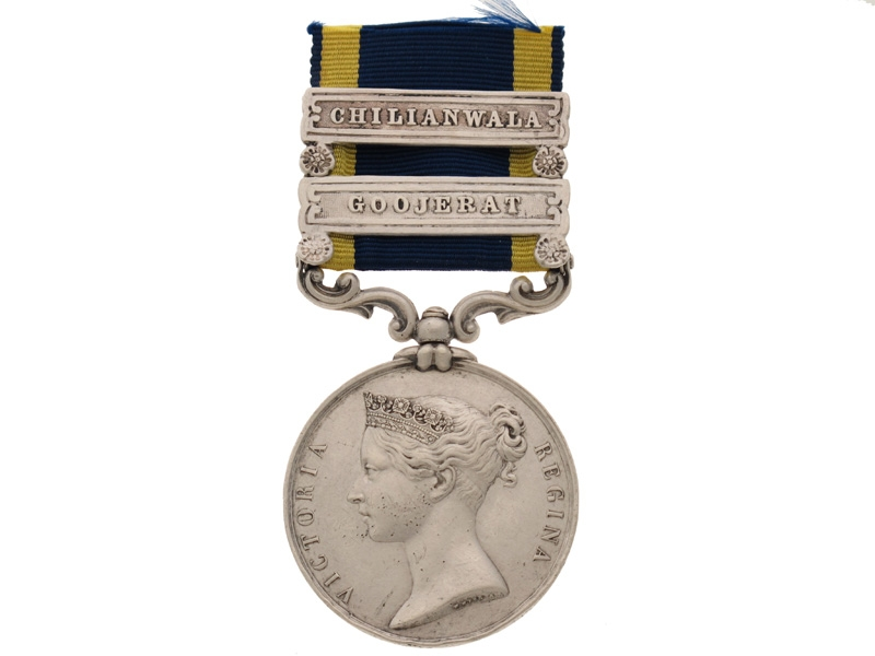 eMedals-Punjab Medal - 61st Foot