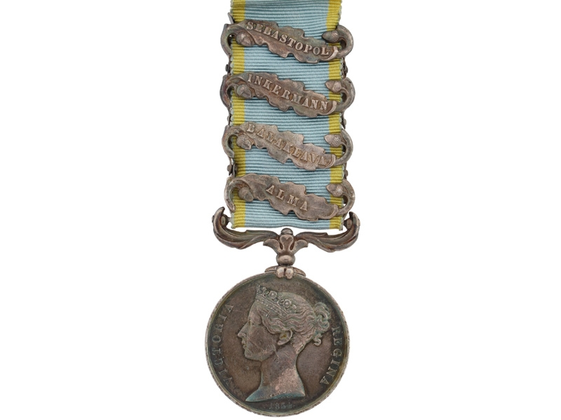 eMedals-Crimea Medal 1854-56 - 4 Clasps