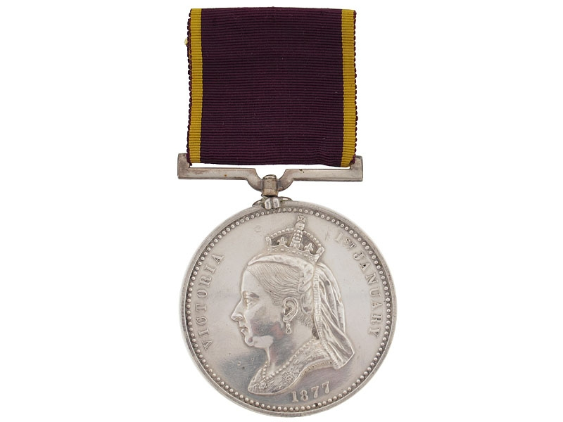 eMedals-Empress of India Medal, 1877