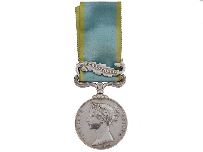 eMedals-Crimea Medal, 1854-1856