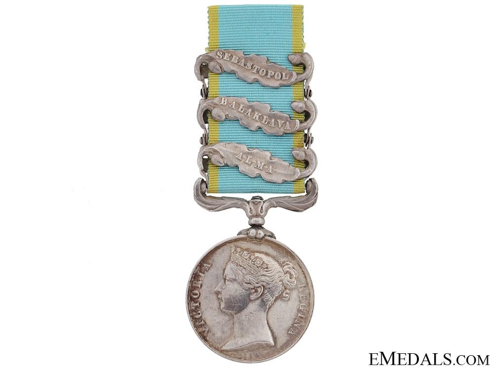 eMedals-Crimea Medal 1854-56