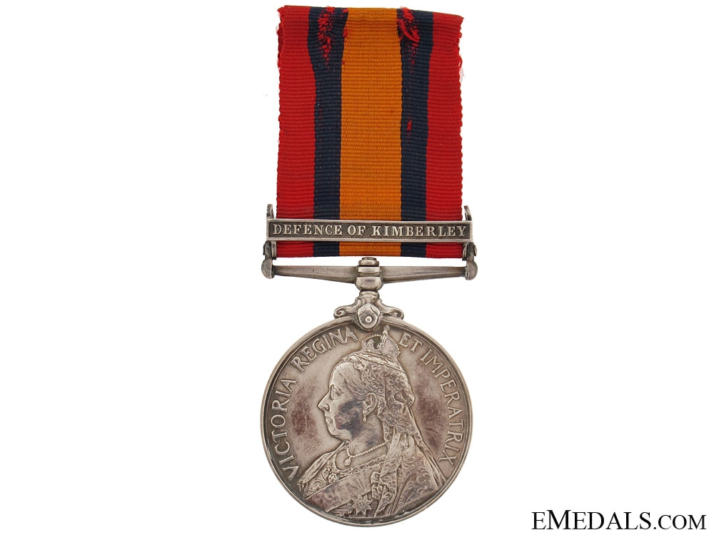 eMedals-Queens South Africa Medal 1899-1902