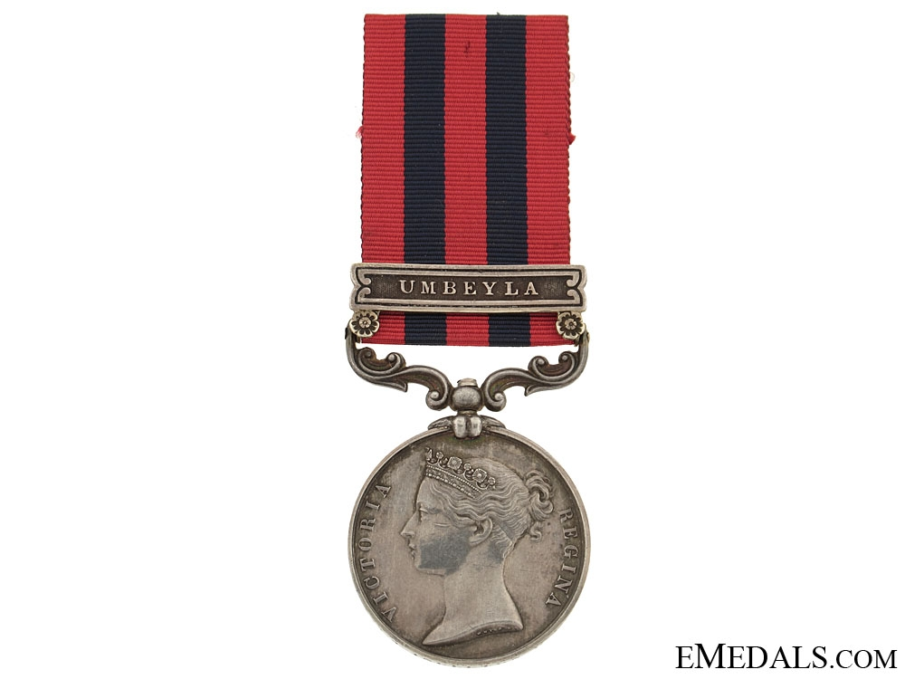 eMedals-India General Service Medal 1854-95