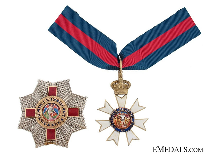 eMedals-The Most Distinguished Order of St. Michael and St. George, K.C.M.G.