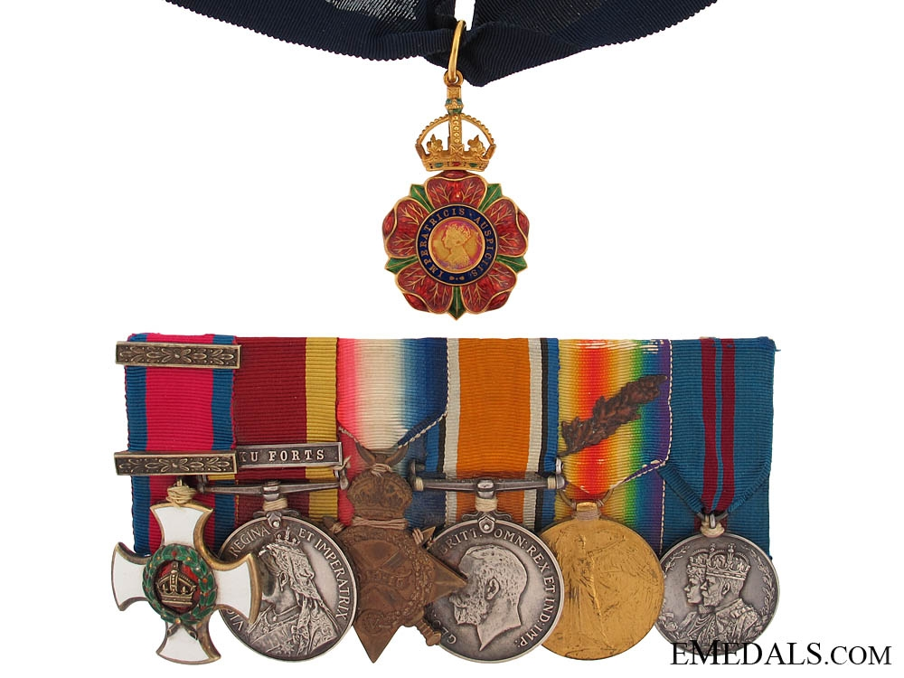 eMedals-The Most Eminent Order of the Indian Empire to Rear-Admiral Colin Mackenzie