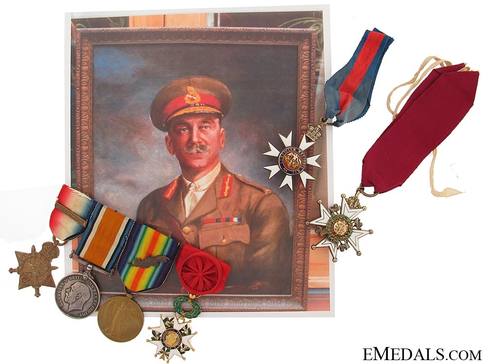 eMedals-The Great War C.B., C.M.G. group of six awarded to Brigadier-General E. C. F. Gillespie