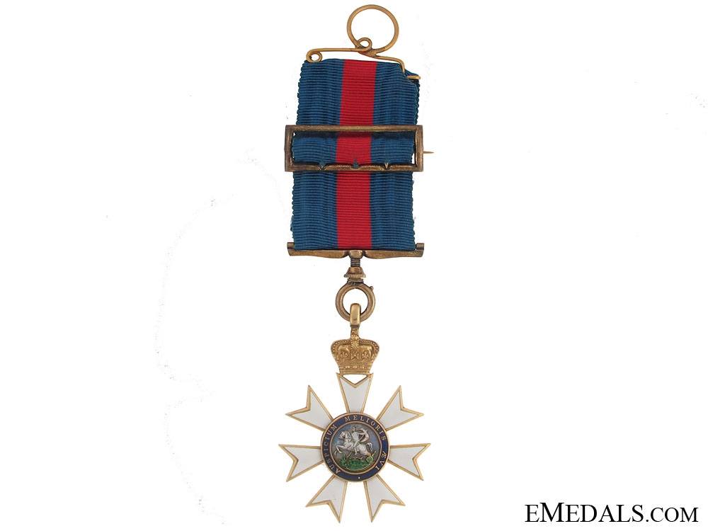 eMedals-An Early Example of the Most Distinguished Order of St.Michael & St.George