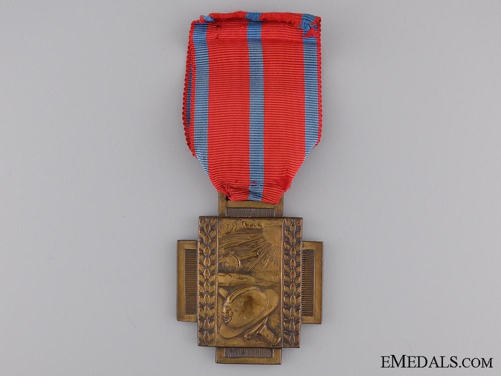eMedals-Belgian Frontline Fire Service Cross 1914-1918; Type II