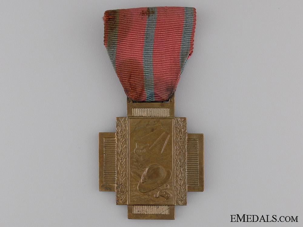 eMedals-Belgian Frontline Fire Service Cross 1914-1918; Type I
