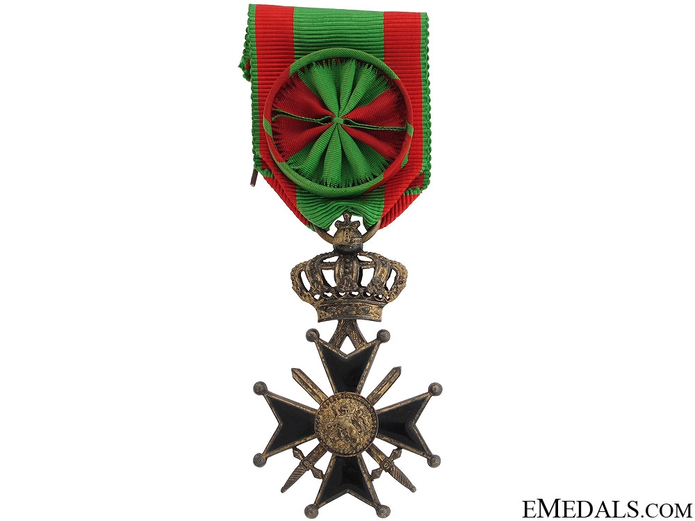 eMedals-Belgian Military Cross
