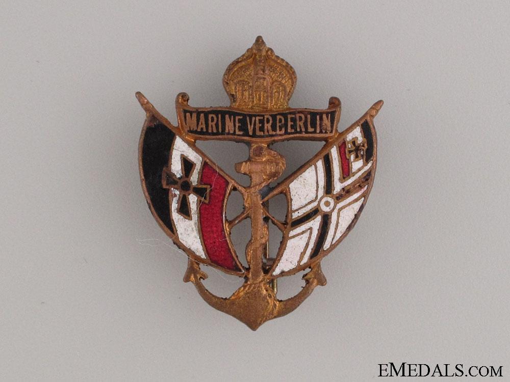 eMedals-Berlin Naval Veteran's Association Pin