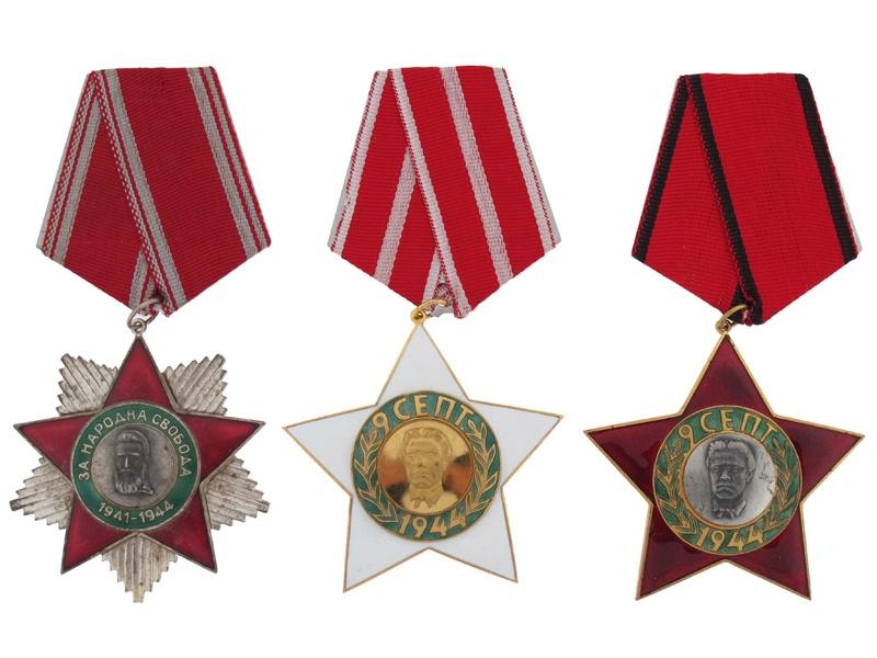 eMedals-Three Socialist Orders
