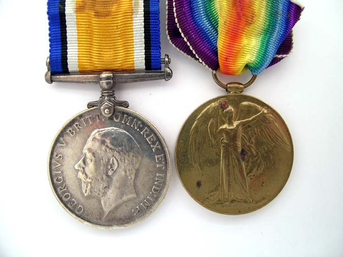 eMedals-Pair to G. Nelsky, 2nd. South African Infantry