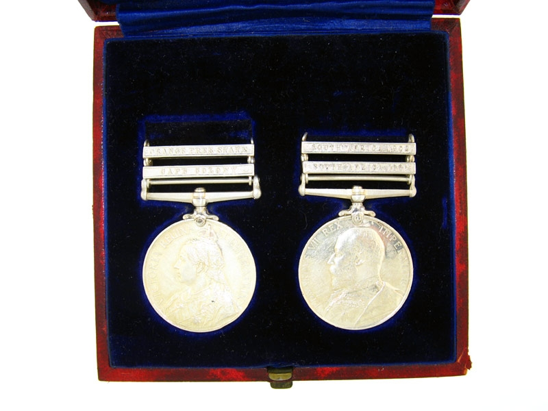 eMedals-Pair, Lieutenant J.F. Rhodes, Royal Scots Greys
