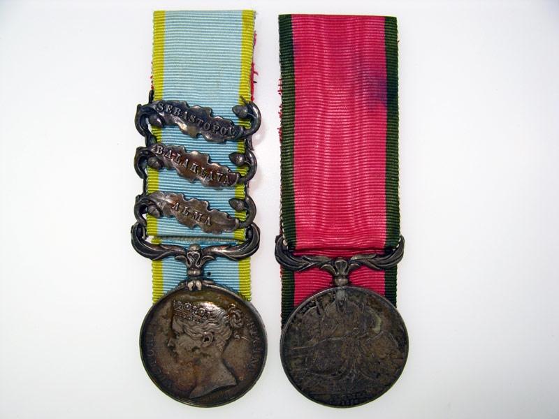 eMedals-Crimean War Pair,