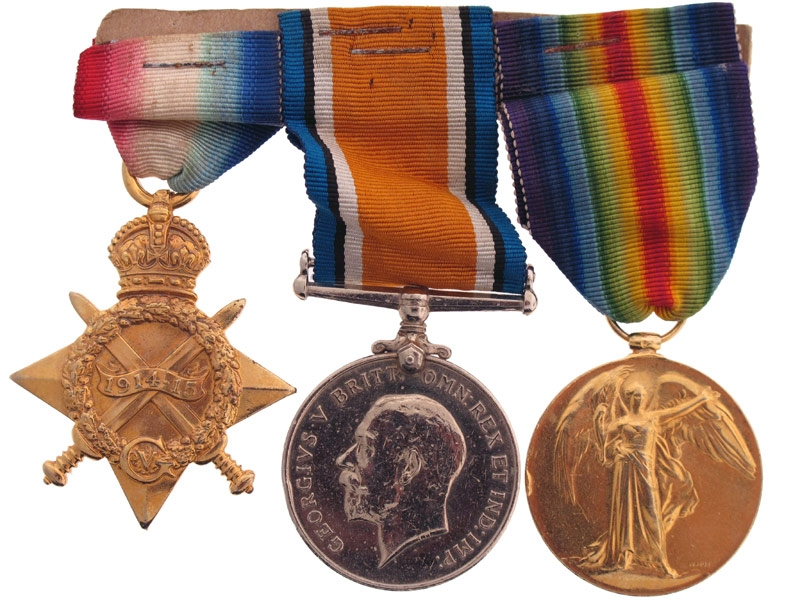 eMedals-Royal Army Medical Corps Trio – Pte. V. Pascoe