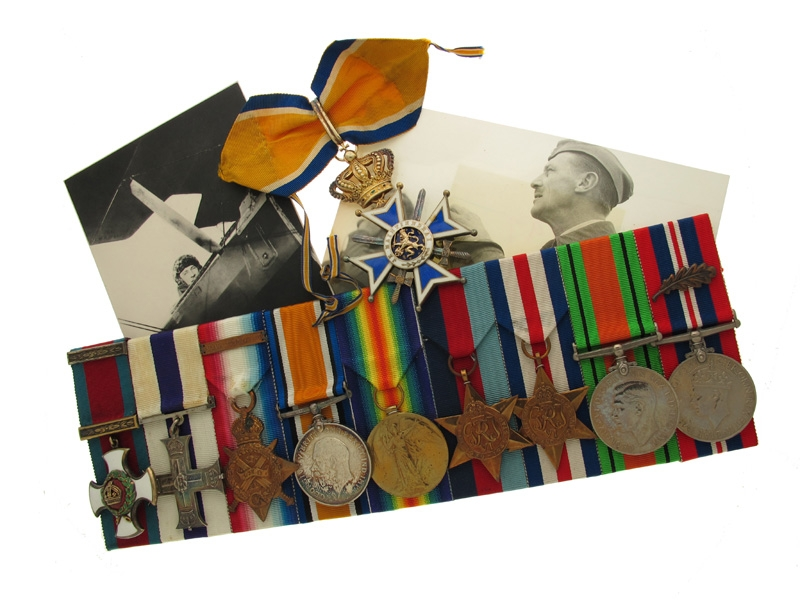 eMedals-An Extraordinary Lot to Group Captain C. S. Morice