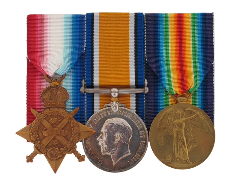 eMedals-Awards to Royal Marines Brigade - Gallipoli